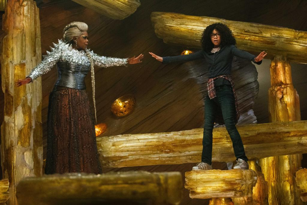 Find the courage to face the darkness. #WrinkleInTime is in theaters now.