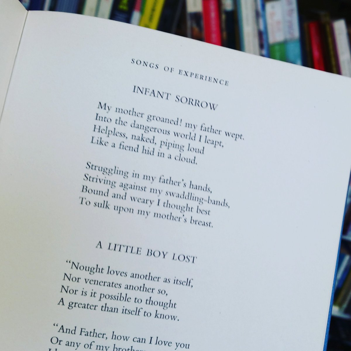 the little boy lost poem