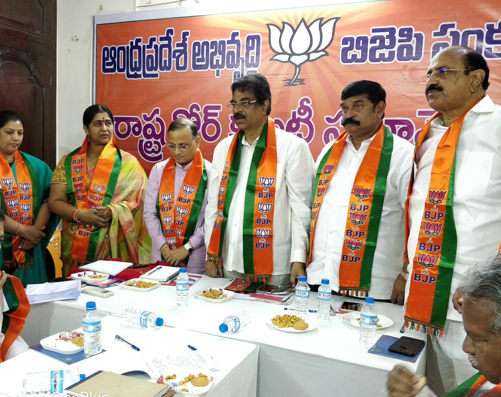 "BJP ANDHRA PRADESH on Twitter "" Actress & Ex TDP leader Smt Kavitha Garu joined BJP today She said reforms of Shri narendramodi Ji central govts"