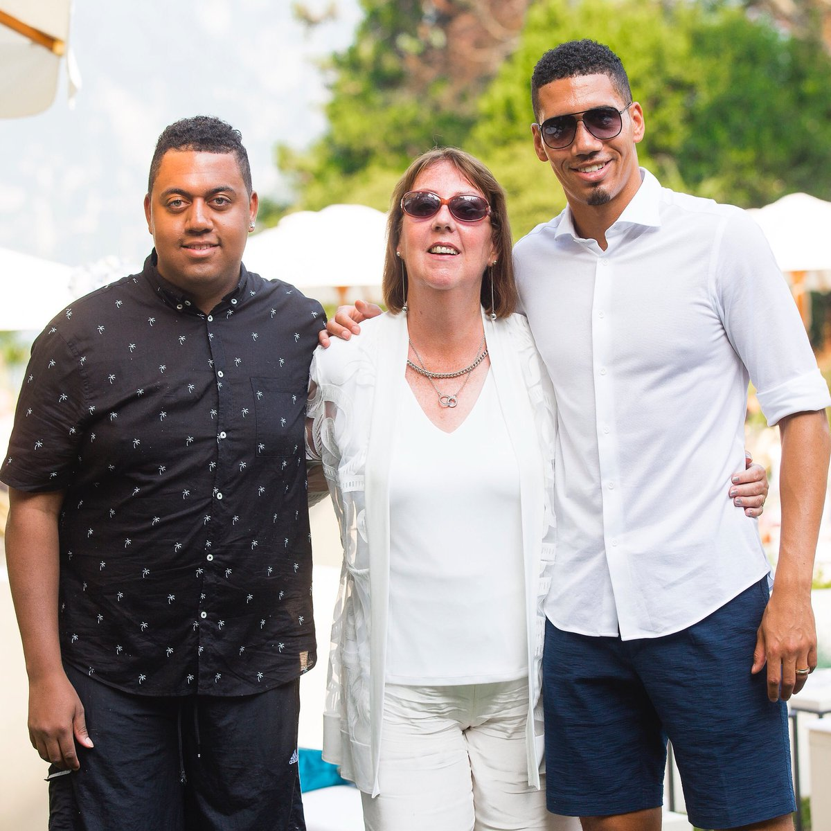 Picture of Chris Smalling Mother, called Theresa