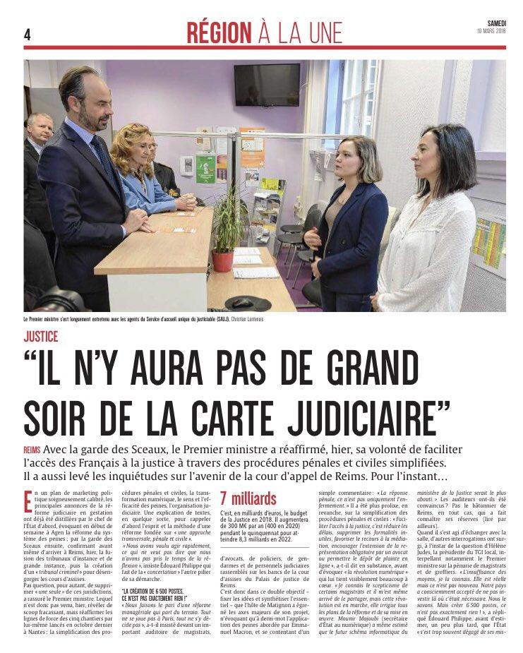 Premier Ministre Et Garde Des Sceaux En Visite Au TGI De Reims Ce Vendredipictwitter Gmd3OTpCtz