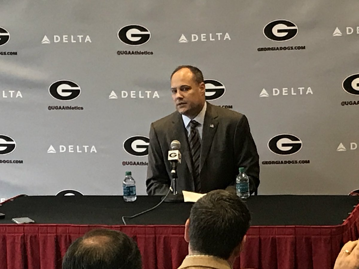 """Mark Fox: """"I wasn't pleased we didn't make the tournament this year. That's my responsibility."""" #UGA #Dawgs"""