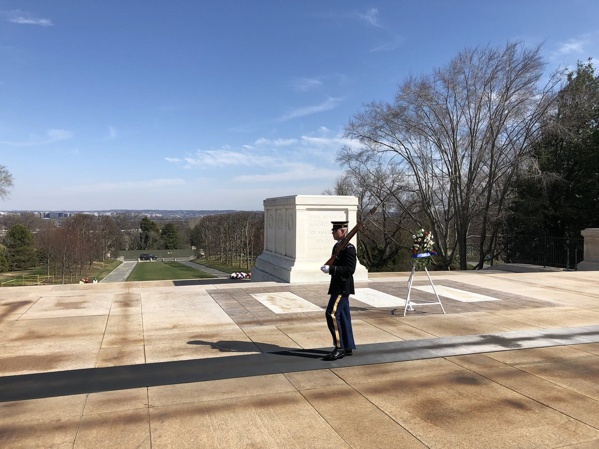Always an honor to watch the changing of the guard at the Tomb of the Unknown Soldier.