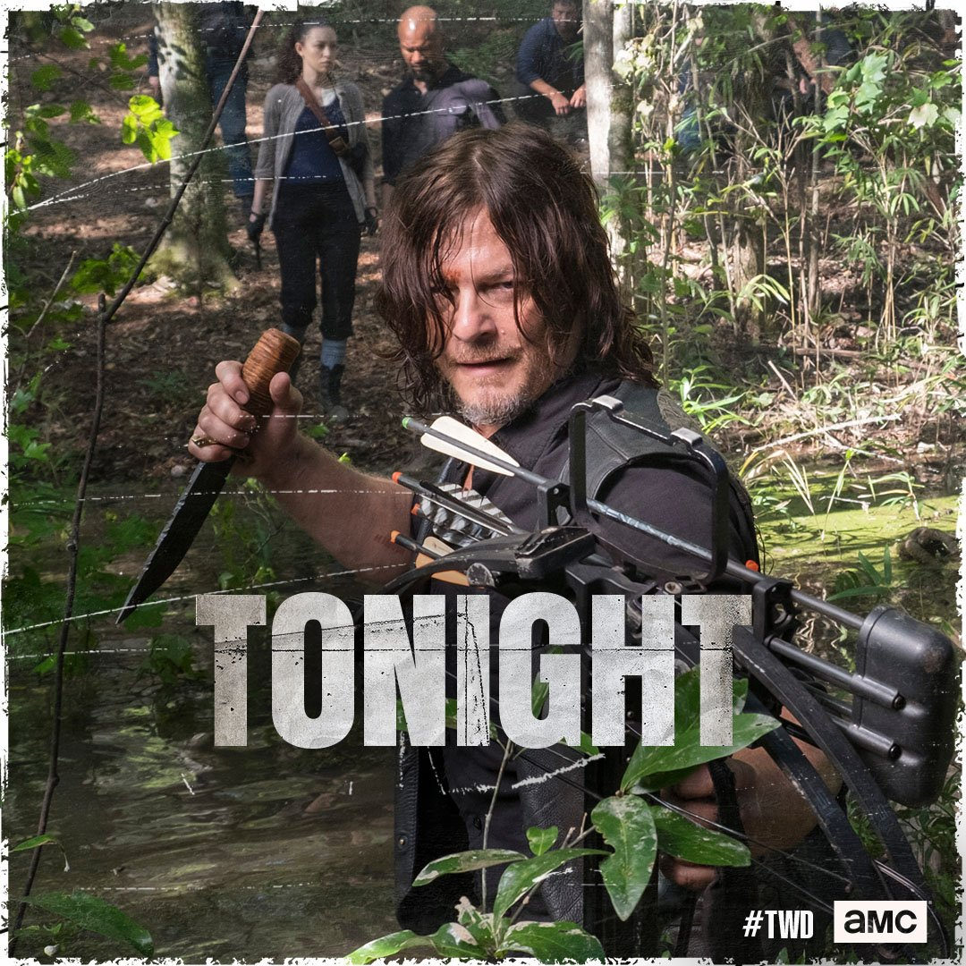 Divide and conquer. New episode of #TWD...