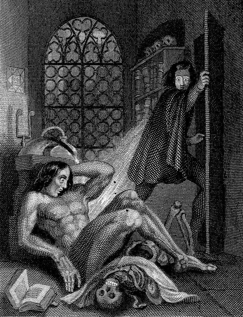 a look at the monster in mary shelleys frankenstein There is speculation that one of mary shelley's models for victor frankenstein was frankenstein's monster inside look at the read original frankenstein by.
