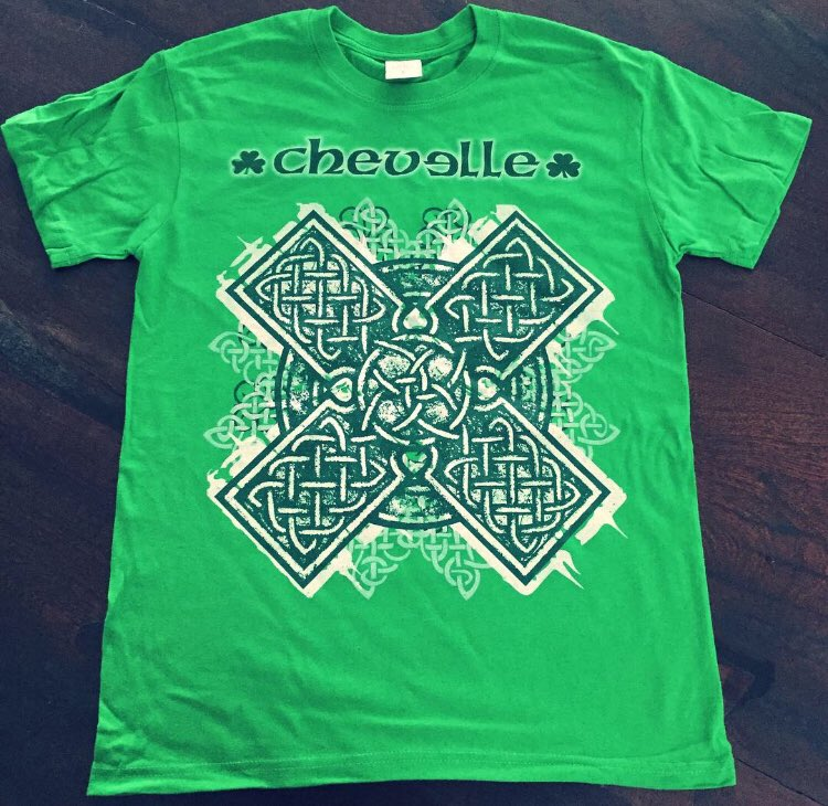 FINAL WEEK: Be sure to place your order for Chevelles $10 St Patrick's day tee to receive it in time for the big party THIS SATURDAY-March 17th! Show some love for the Irish and get yours before they sell out!!  getsomemerchandise.com/M-STPATTY2018-…