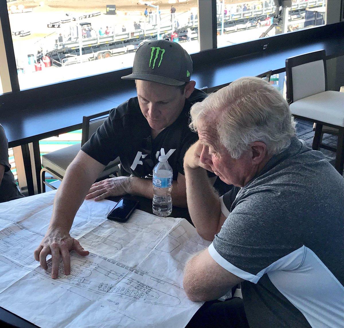 On to the next! 🤘  @RickyCarmichael is already hard at work designing the 2019 #DAYTONASX course!
