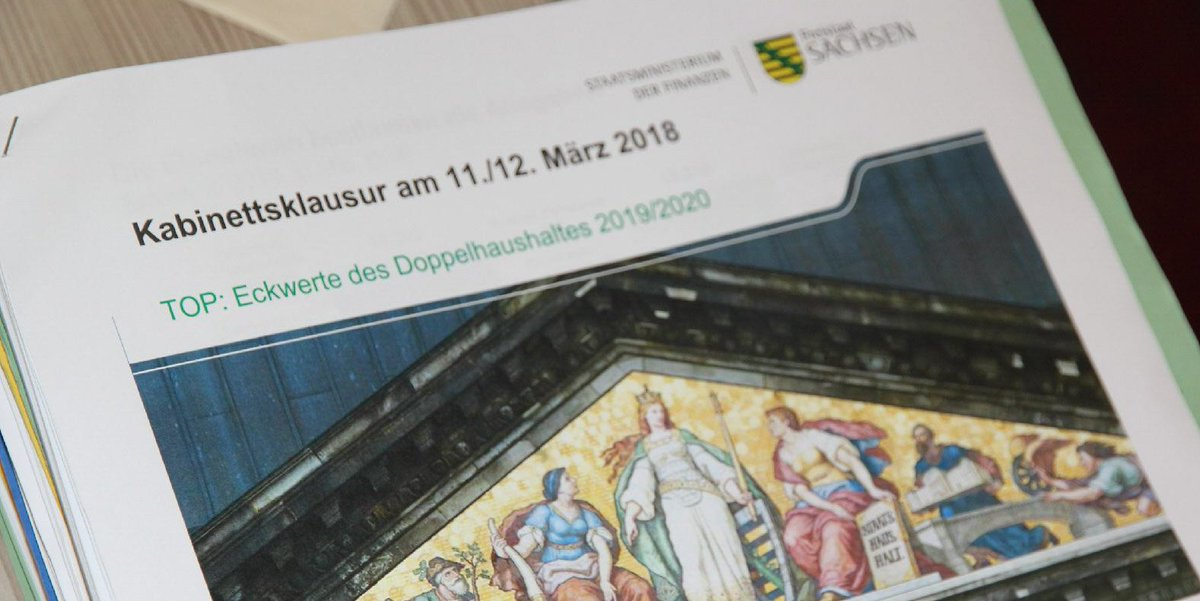 Die Staatsregierung Berat Hier Bis Morgen Eckwerte Fur Den Nachsten Doppelhaushalt 2019 2020 Sachsenpictwitter 4K99Vz38ai