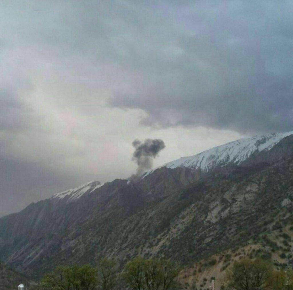 İran'da Türk Uçağı Düştü