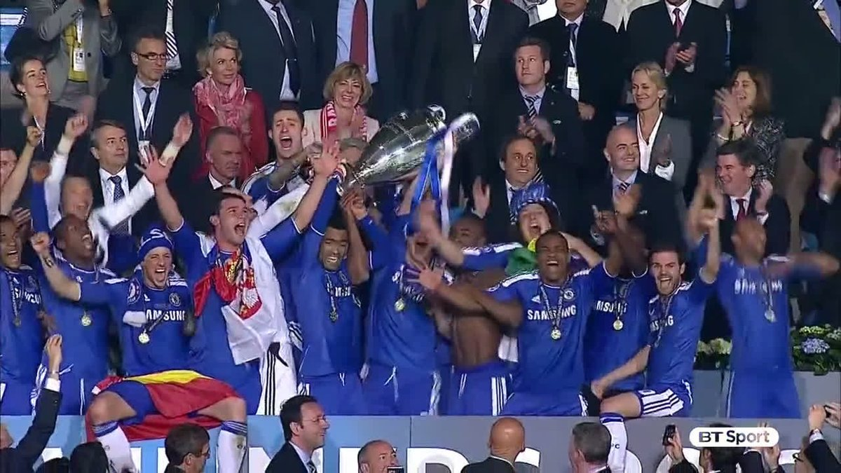 🗓️ On This Day in 2012: Didier Drogba scored the penalty that won the Champions League for Chelsea! 🏆 #CFC