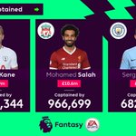 Kane: 1pt Salah: 2pts Aguero: 0pts (🤕)  Blanks everywhere you look...  #FPL
