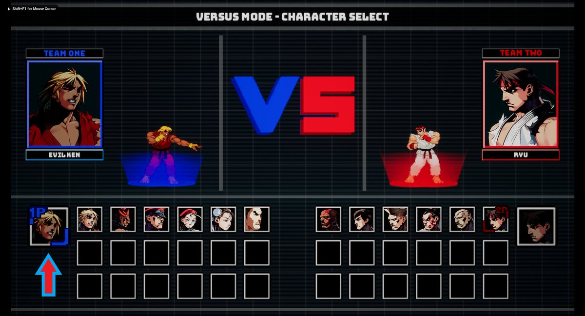 unreal fighter 2d on twitter unreal 4 2d fighting game template