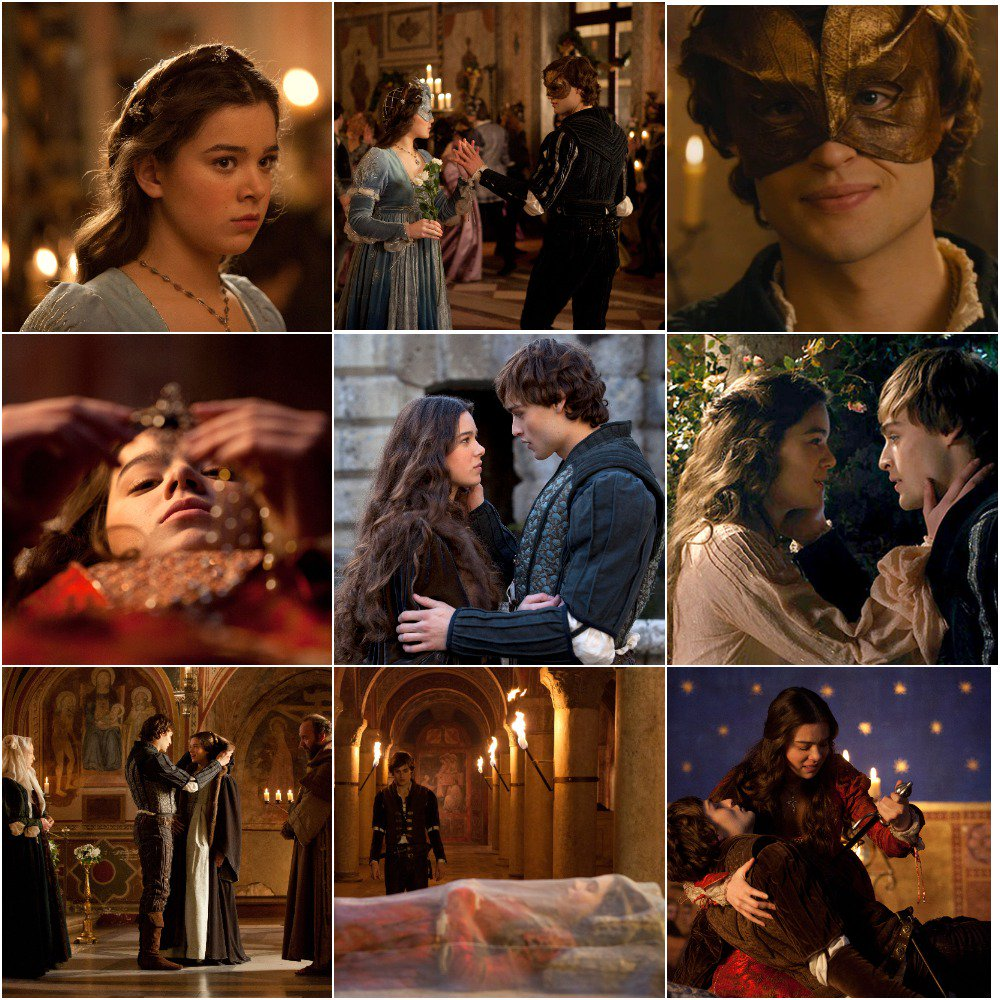 shakespeares romeo juliet film comparison Shakespeare intends it to be pivotal: the downward trajectory of romeo and juliet's fortunes begins here, sparked by an unlucky chance event baz luhrman has since revealed [in an interview with kim hill] that the scene was fortuitous: the film's cast and.