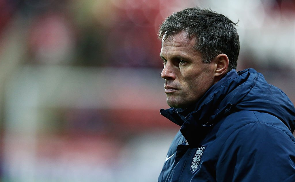 Jamie Carragher has apologised after a video showed him spitting towards a girl in a car from his own vehicle. bbc.in/2FzCuUe