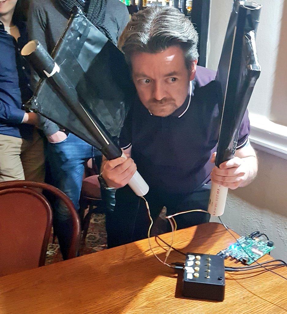 Here's @Shakey247 detecting cosmic rays....
