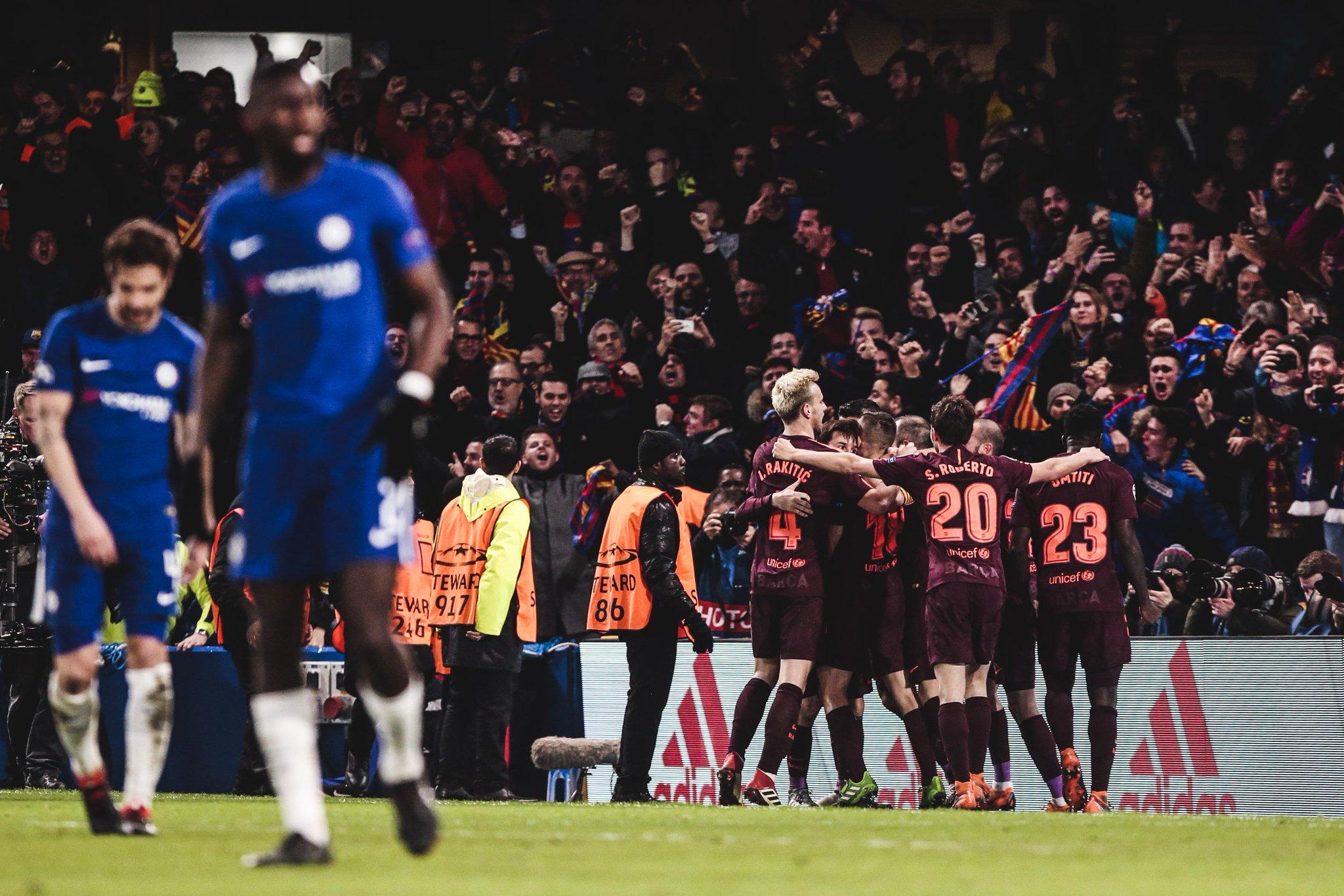 Barcelona gano 3-0 al Chelsea en la Champions League