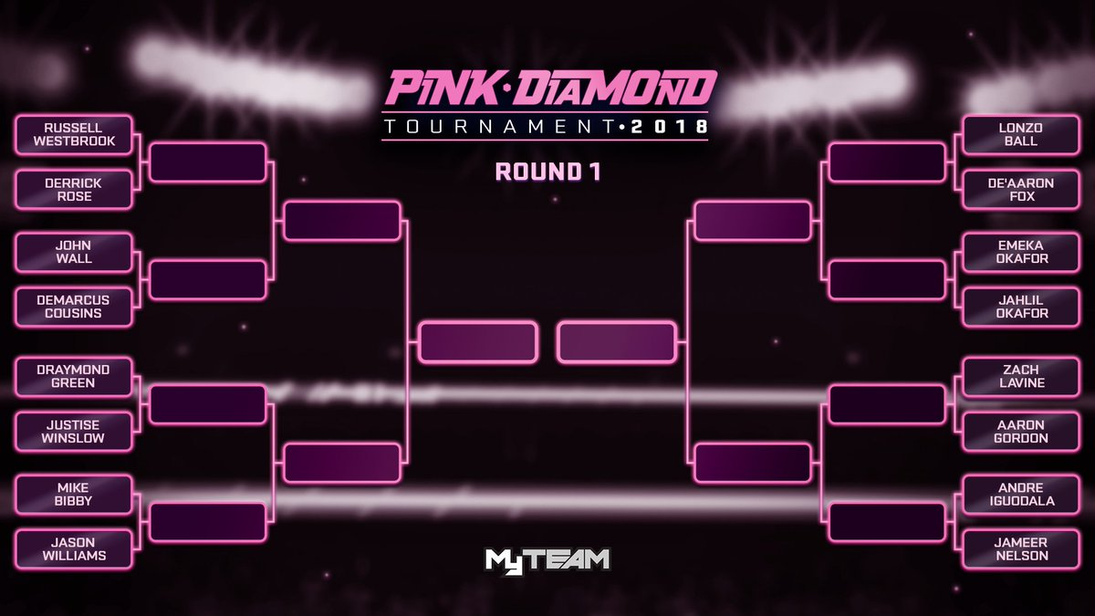 59c4cbcbe30 ... in on the action with our Pink Diamond Bracket! Select your winners in  each round and we ll update the bracket in accordance with each round of  the big ...