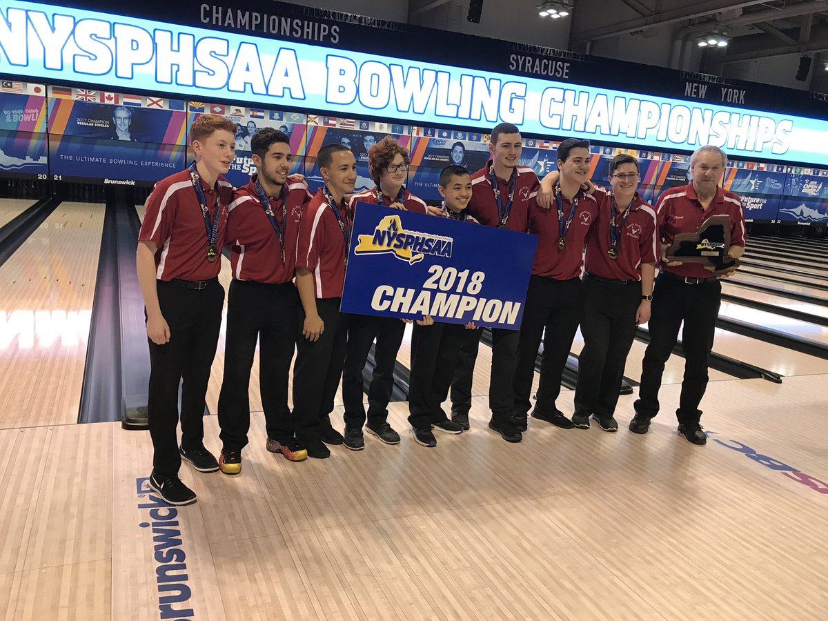 Image result for north rockland BOYS BOWLING STATE champs 2018