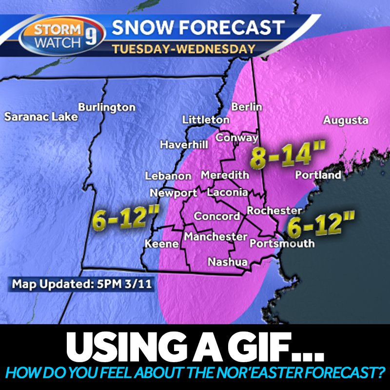 Wmur Tv On Twitter Hayleywmur Just Released An Updated