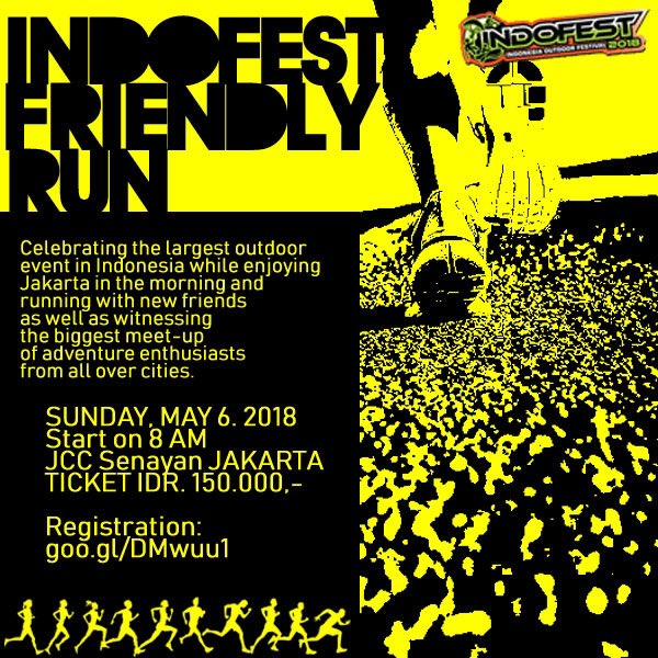 Indofest Friendly Run • 2018