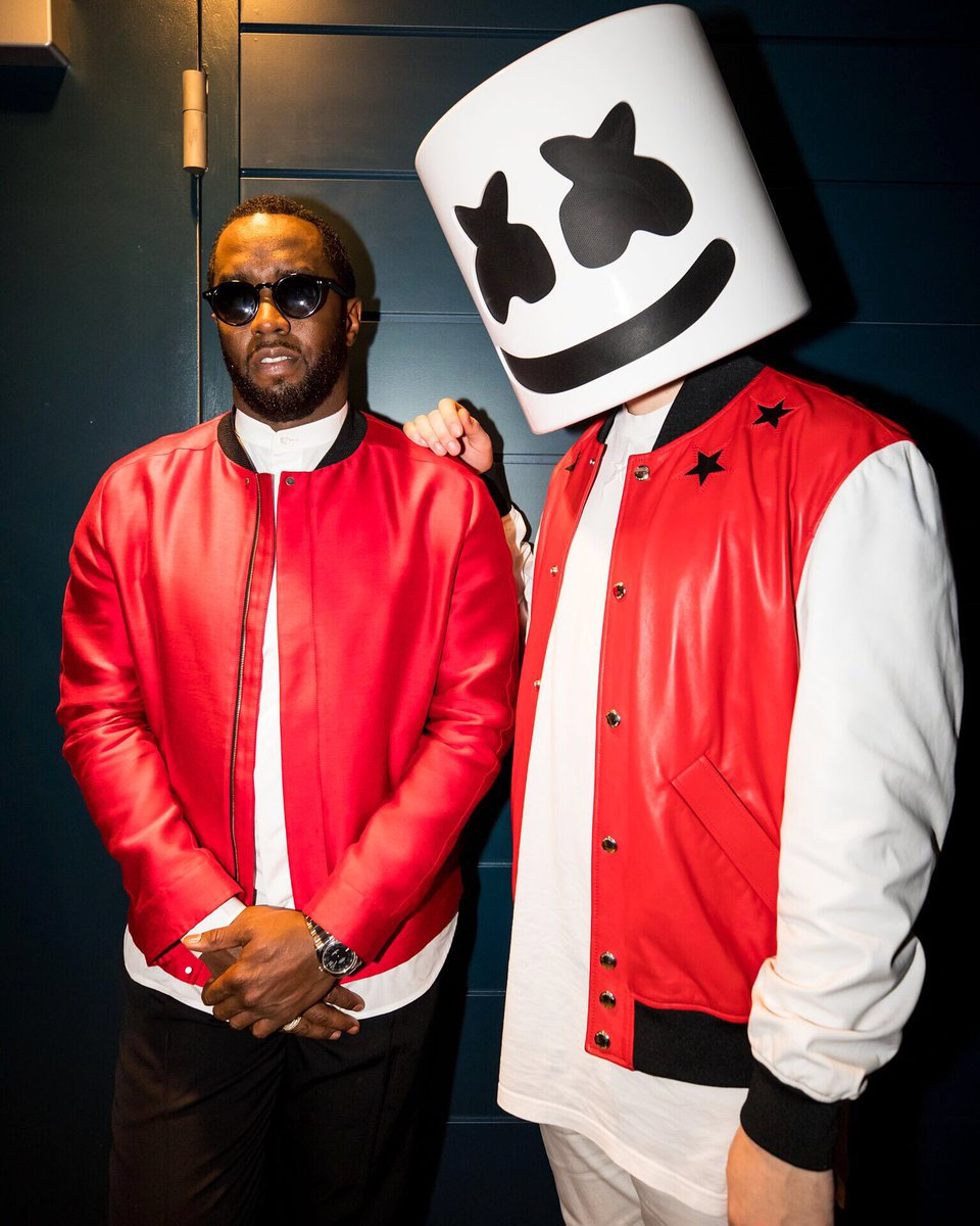 A mogul and a marshmello walk into a room @Diddy