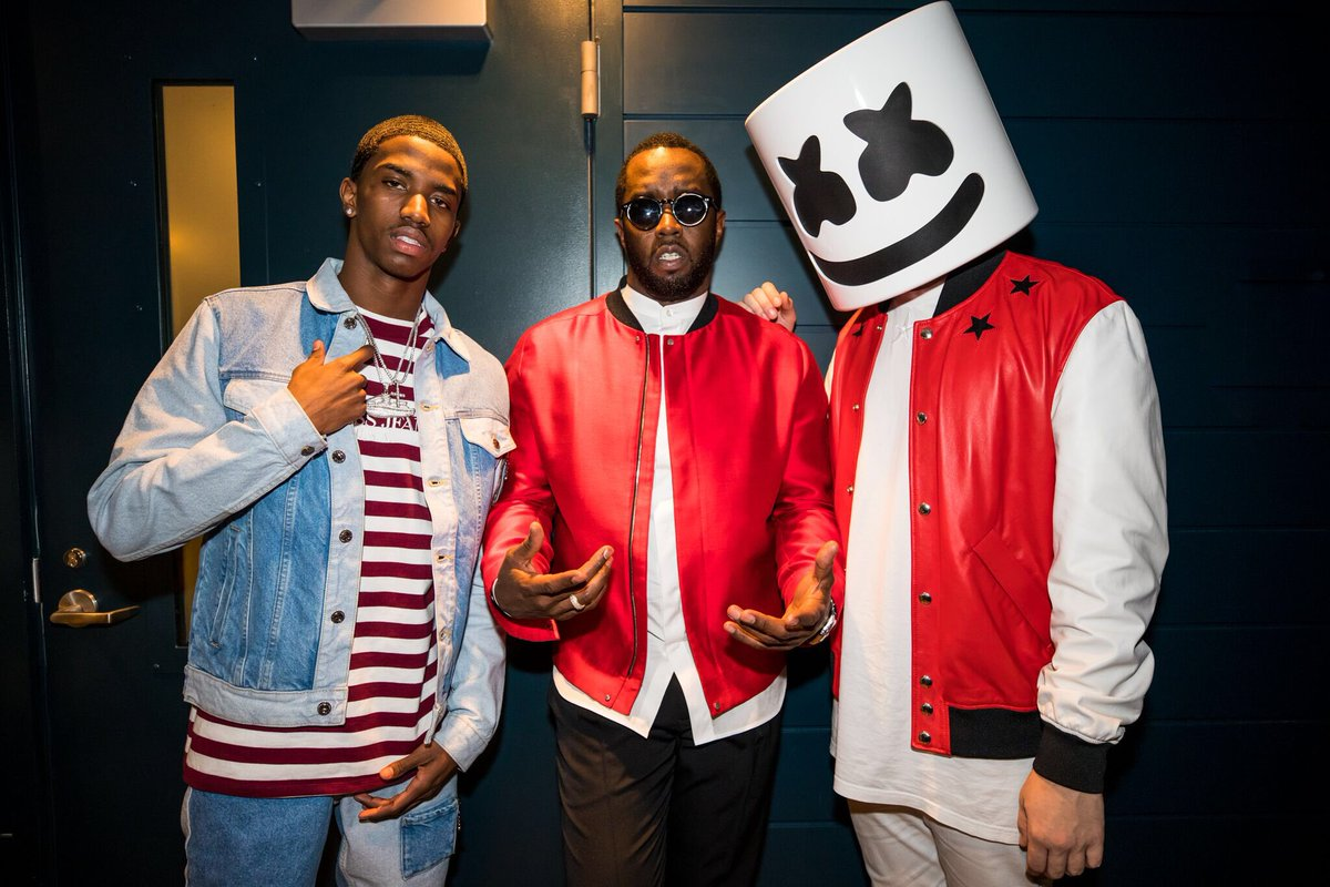 Yung legends @Kingcombs @Diddy
