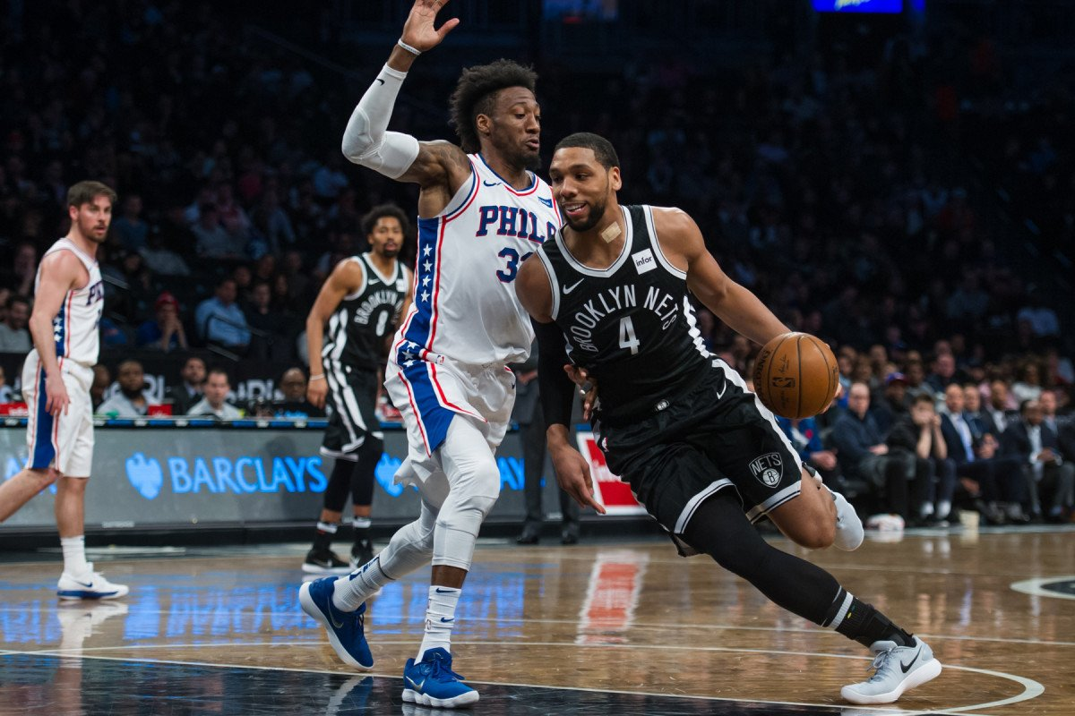 Nets ran out of options so Jahlil Okafor got a chance https://t.co/SVmucpQVEE