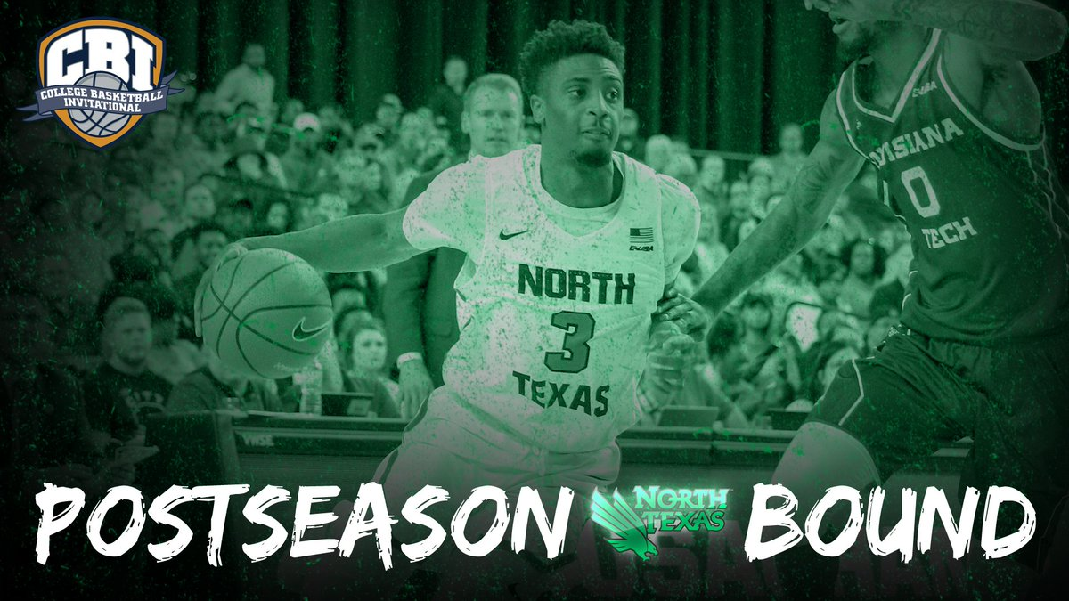 Conference Usa On Twitter Welcome To The Postseason Meangreenmbb