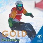 Meet Simon Patmore - Australia's first GOLD medallist for the #PyeongChang2018 Paralympic Games. He's not only won Australia's first Paralympic medal in Para-snowboard but he's won our first Paralympic winter gold since 2002. What a legend! #WeBelieve