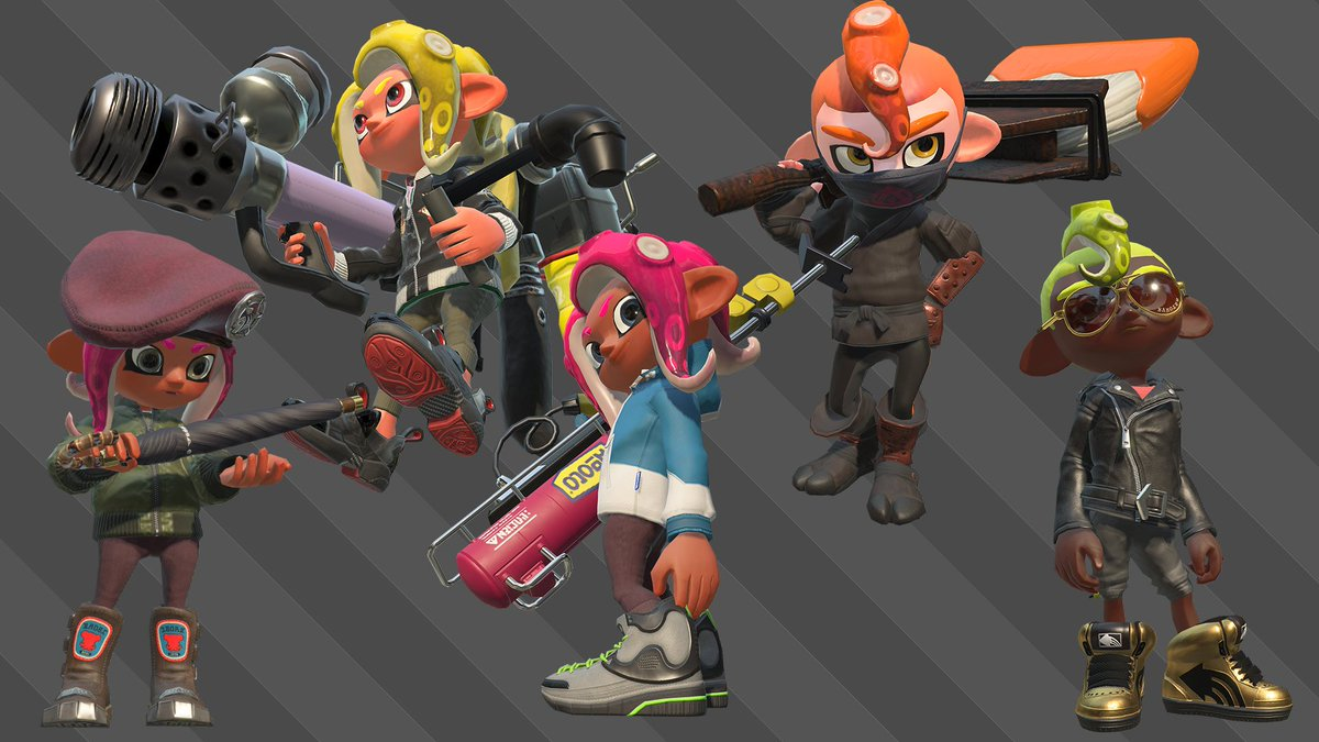 Splatoon 2 Ver 30 Announced Octo Expansion Single Player Dlc