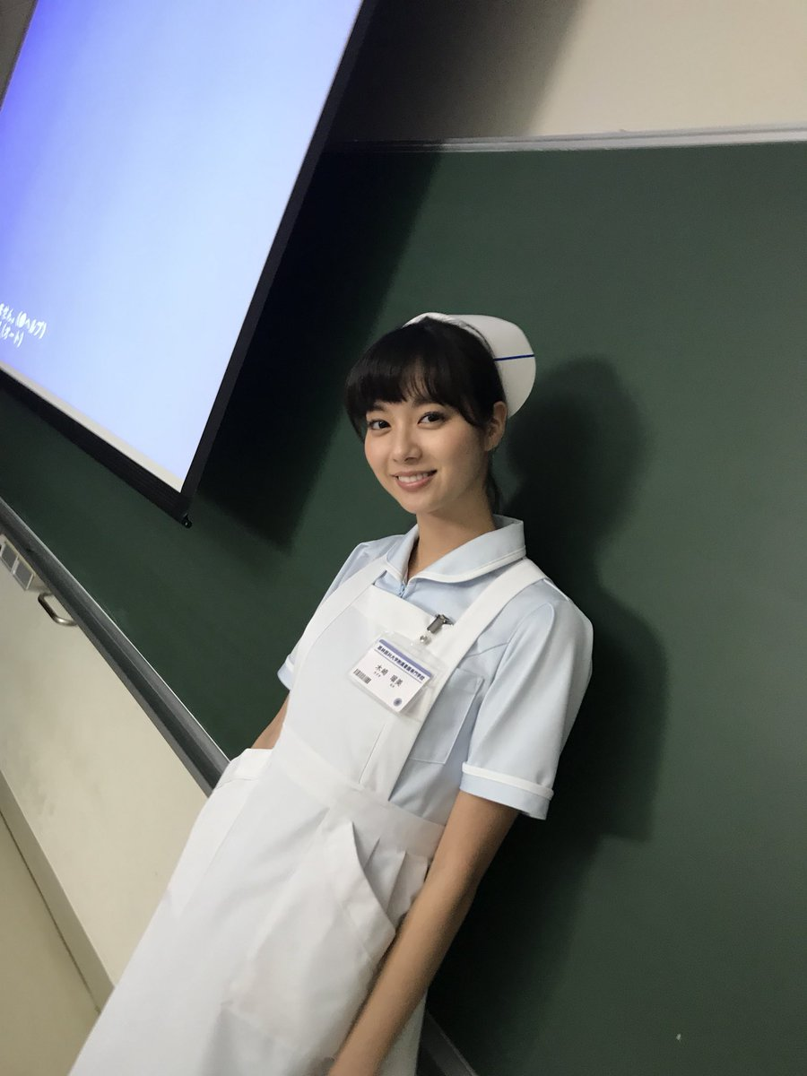 クランクイン!  東海テレビ「いつまでも白い羽根」の撮影がスタートしました!  大学入試に失敗し、すべりどめの看護学校に通うことになった主人公、木崎瑠美を演じます。  #いつまでも白い羽根 #東海テレビ #新川優愛