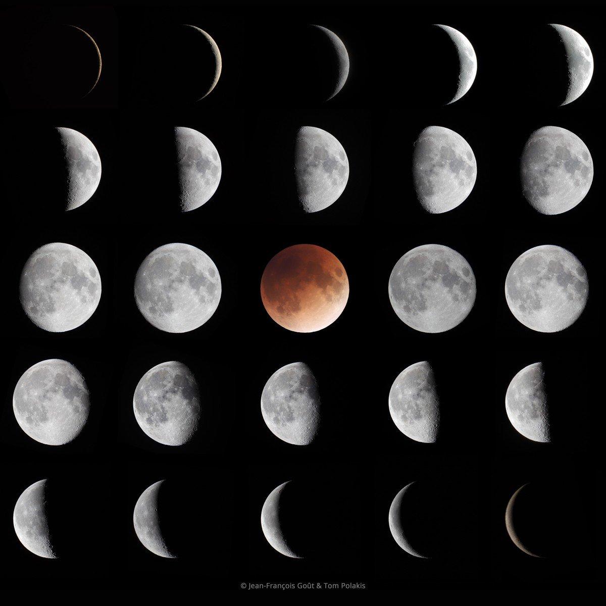 фото луны в разных фазах прокуратура района внесла