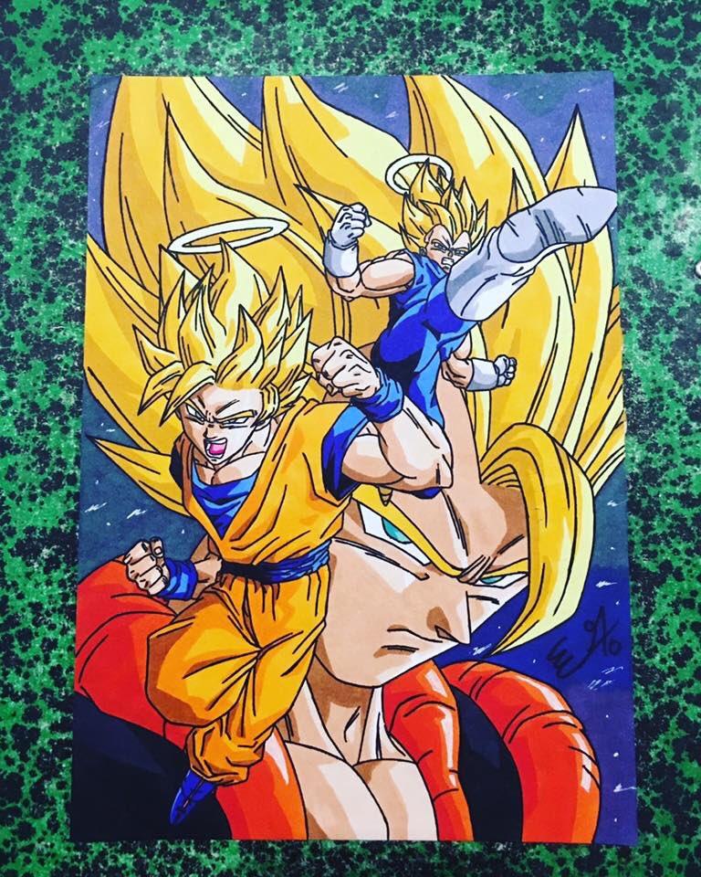 Erwan On Twitter Vegeta Goku Gogeta Gogeta Dragonballz