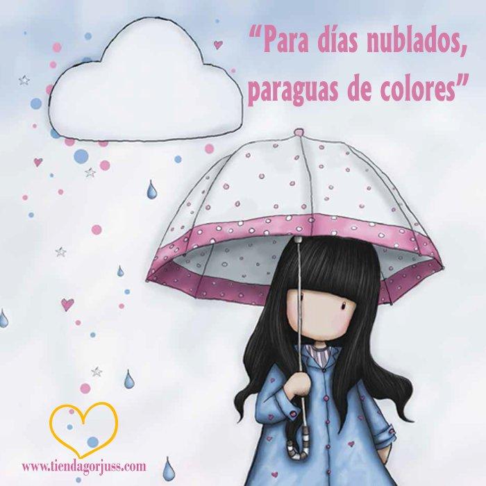 Tienda Gorjuss Ar Twitter Para Días Nublados Paraguas De