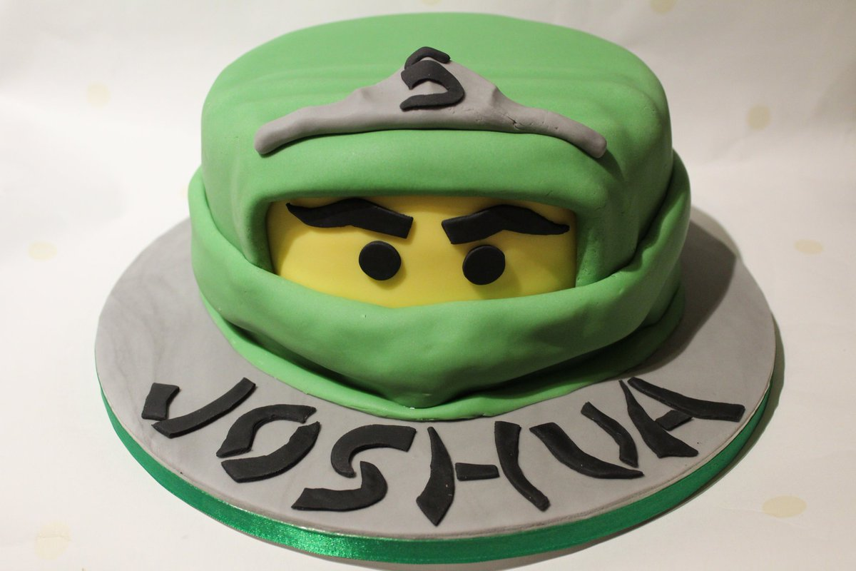 Stupendous Striped Apron Bakery On Twitter Lego Ninjago Birthday Cake Funny Birthday Cards Online Inifofree Goldxyz