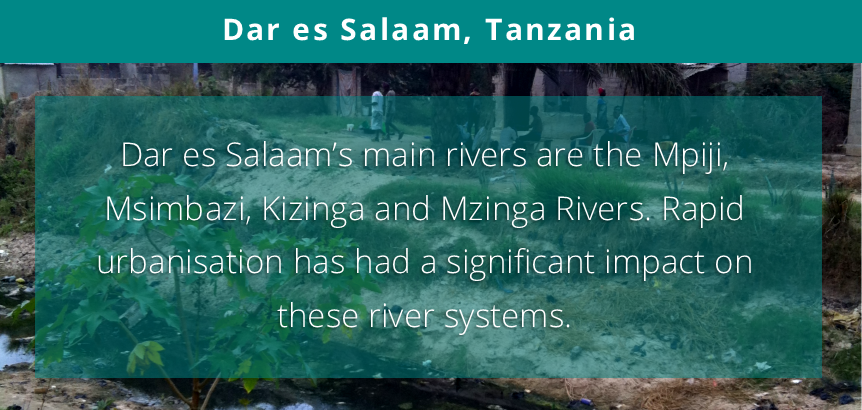 International Day of #ActionforRivers is coming up on 14 March 2018  See what action our #UNARivers project is taking in #DaresSalaam #Tanzania here: https://t.co/paQ5joSRTO  #Action4Rivers #Rivers #UrbanNaturalAssets @SwedBio