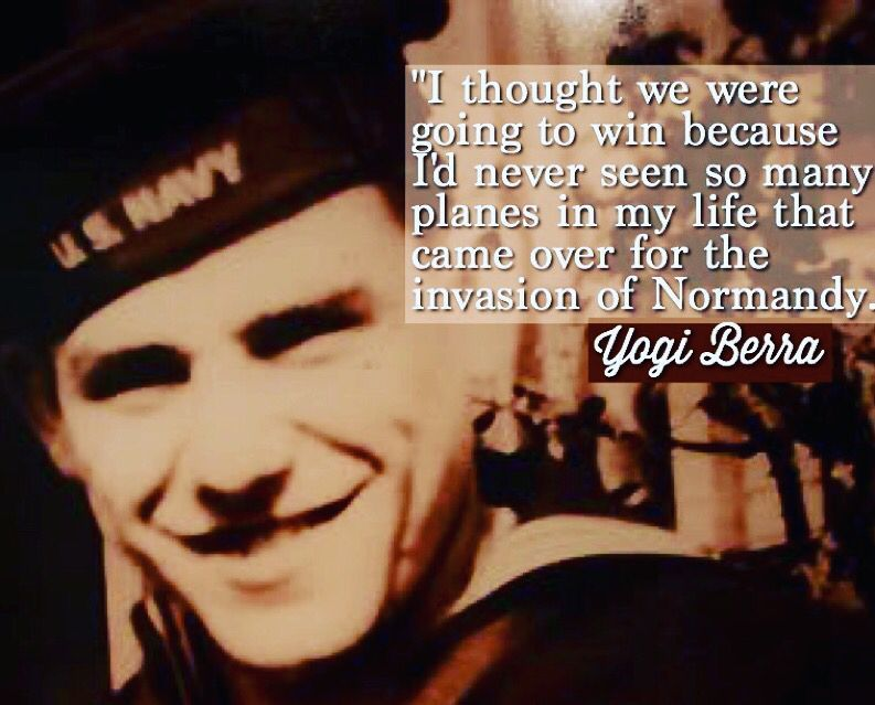 Yogi Berra was one of a six-man crew on...