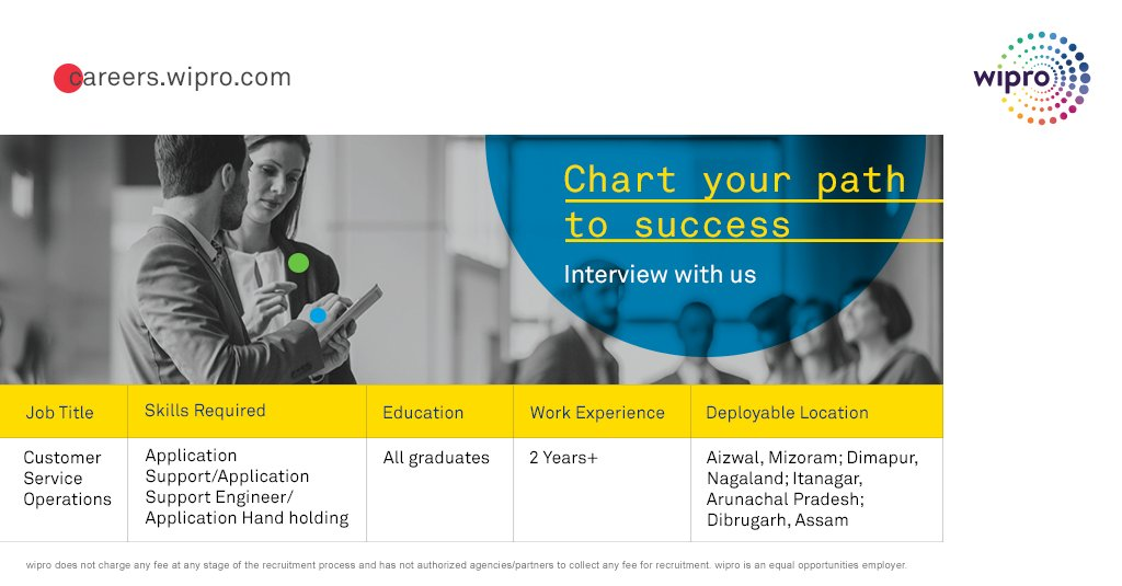 careers wipro on twitter we are always looking for new talent