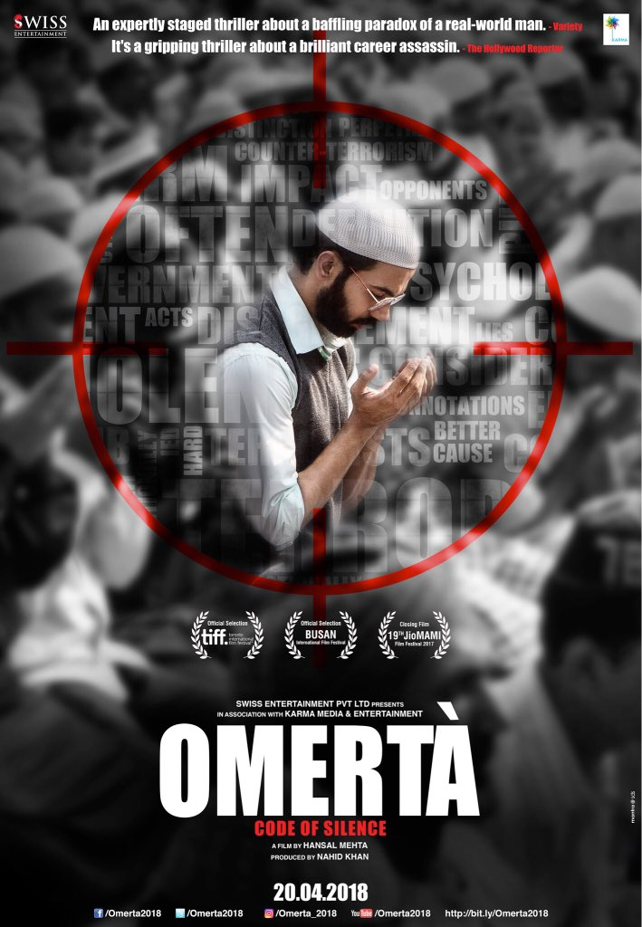 Omerta (2018), Movie Cast, Story and Release Date