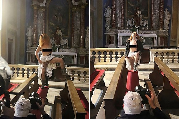 Church nude Nude Photos 86
