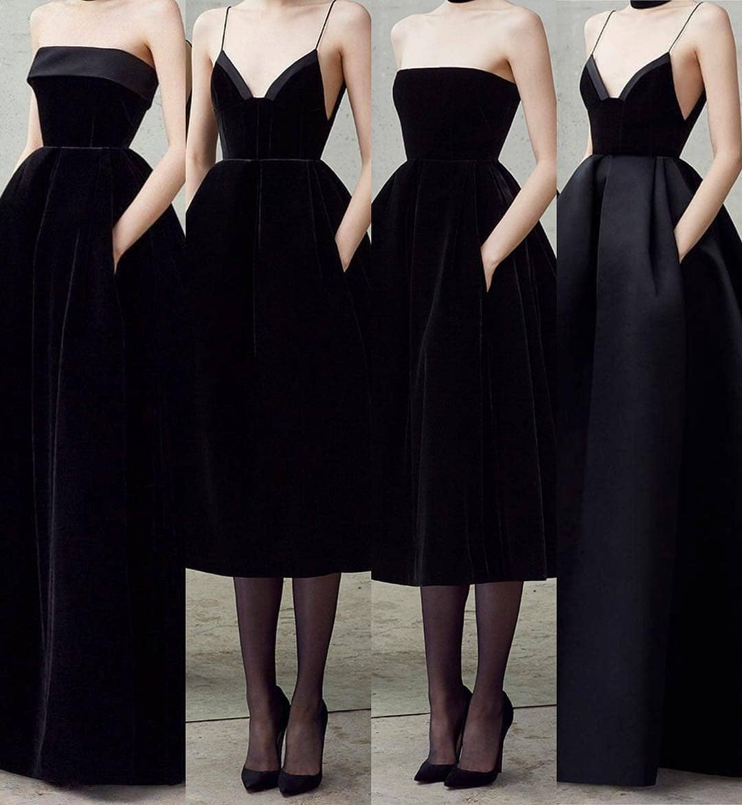 Black gowns by Alex Perry ✨