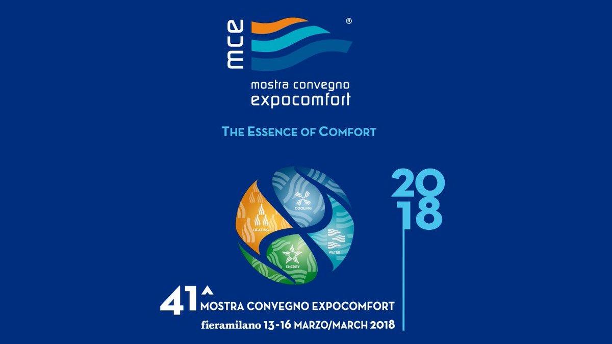 Mostra Design Milano 2018 hashtag #mcexpocomfort auf twitter
