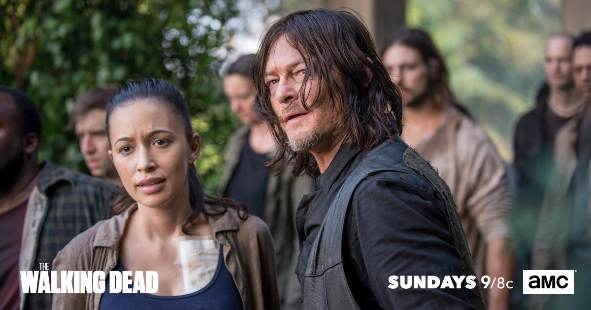 Daryl tries to get the Alexandrians to s...