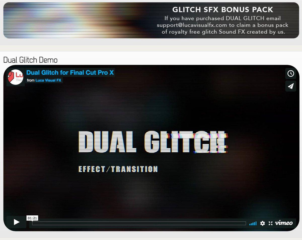 Glitch plugin free