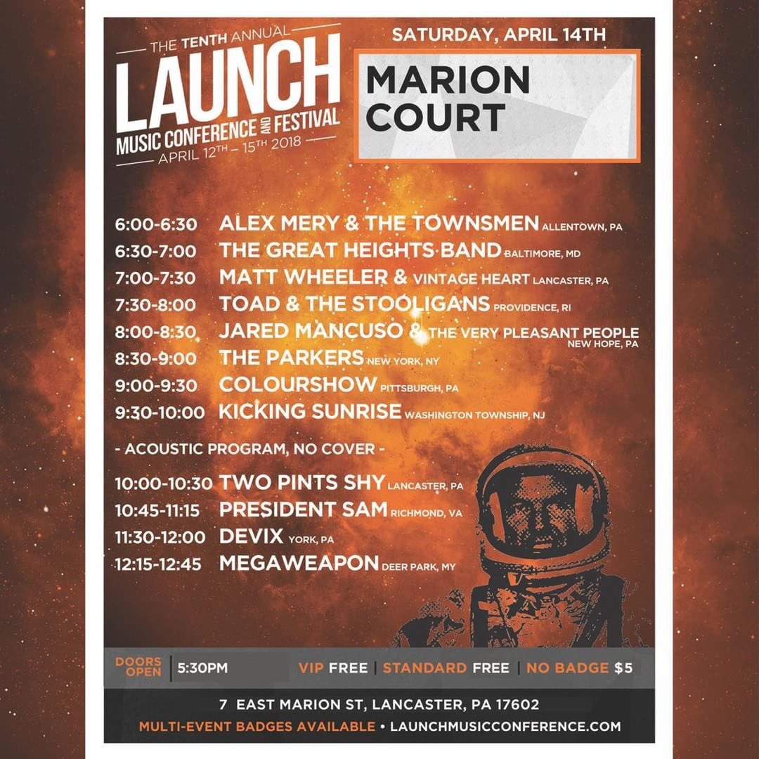 April 14th @LaunchMusicConf   Get your tickets here: https://t.co/awAvOwqTEq https://t.co/5oOBY8WYkF