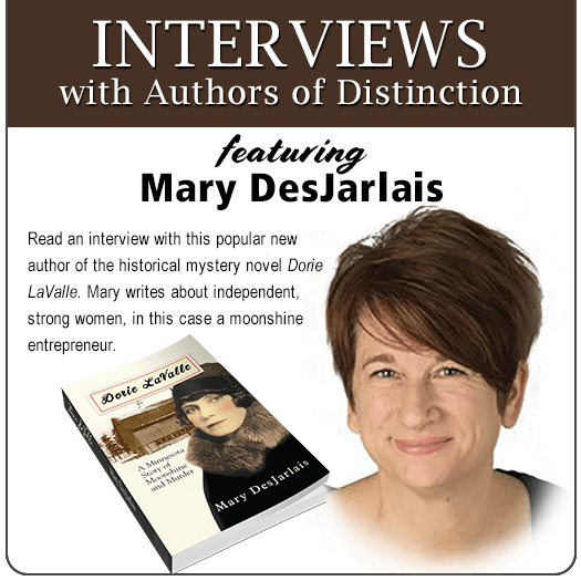 RT@AmazngAuthors  Read the interview with author Mary DesJarlais.  http://smarturl.it/INTdes    *]