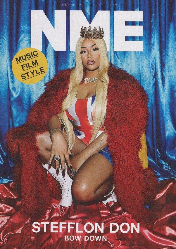�� British hitmaker, @stefflondon graces the cover of @NME's final print issue. ����  https://t.co/yVxU5kkqh7 https://t.co/mFSbfBuZXe