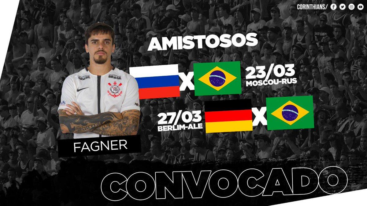 No dia 23 de março o Brasil enfrenta a Rússia em Moscou c01d47b5e1cf7