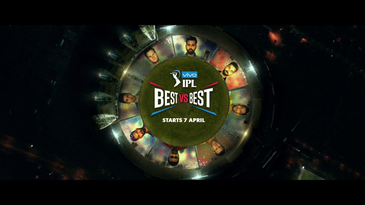 The wait is finally over! The much anticipated #VIVOIPL 2018 anthem is here, heralding the face-off of the #BestvsBest! Is khel ka yaaron kya kehna!