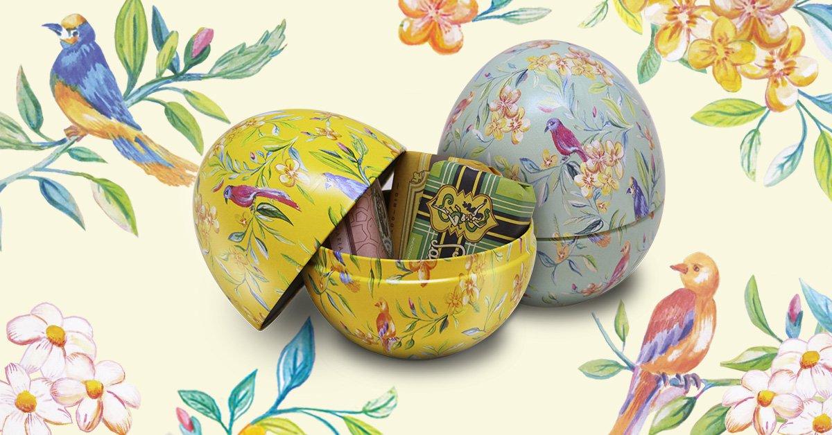 Os novos ovos decorados de Páscoa chegaram! Símbolos de vida e prosperidade, os primeiros Ovos de Páscoa da história inspiraram este kit, que traz três Sabonetes Hidratantes nas fragrâncias Benjoim, Salomé e Superfino.  Edição limitada! Compre pelo site: https://t.co/HwLjDKbaOb https://t.co/SrdMB5xEYU
